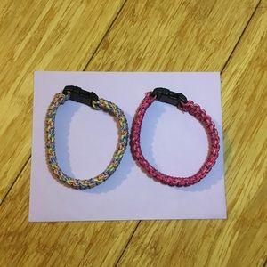 2 survival bracelets